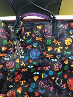 Tory Burch Colorful 彩色 tote bag 手袋