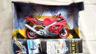 Hot Wheels Kawasaki 電單車 1:18 (沒有原裝紙盒)