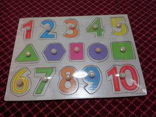 3 Wooden Puzzle