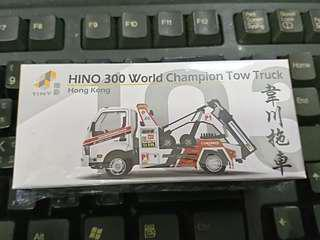 Tiny 微影 Hino 300 World Champion Tow Truck 日野300韋川拖車 (第二期510)
