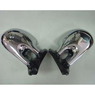 🚚 改裝品 M3 通用款後視鏡 ABS 電鍍