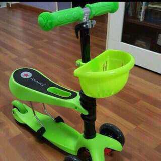 3 in 1 kid scooter with delivery