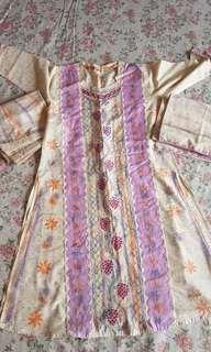 Beautiful lucknowi bn salwar suit