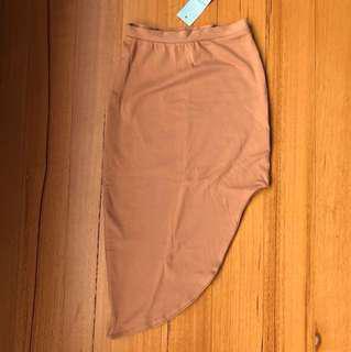 Kookai High Low Midi Skirt