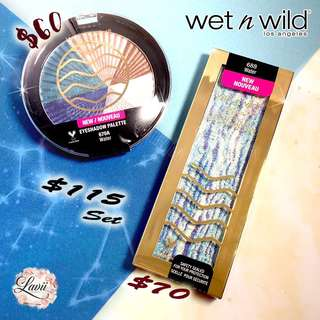 New✨Wet N Wild Zodiac Collection- Water 水象 💦 (eyeshadow + Highlighting Bar) 🇺🇸