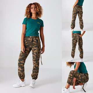 camo pants new