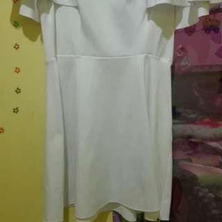 Minidress putih