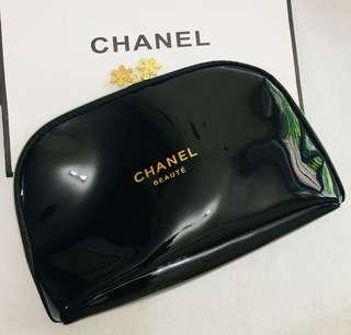 Chanel 大化妝袋 🎀 雪花金扣