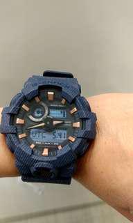 🔥 快搶!!!! 型格牛仔藍色 Casio 手錶 🔥