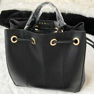 Zara serut + tali panjang dann dustbag kulit import good quality