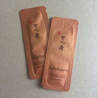 雪花秀 sulwhasoo capsulized ginseng fortifying serum