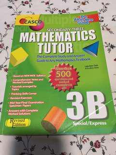 Mathematics Tutor 3B Special/Express