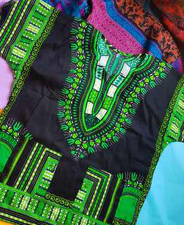 Monochrome oversized dashiki