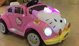 HELLO KITTY CAR FOR KIDS