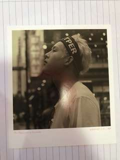 WTS Monsta X Memories in November with Kihyun Polaroid Jooheon
