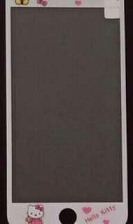 🚚 Iphone7plus /iphone8 plus 卡通鋼化玻璃保貼 HalloKitty 凱蒂貓