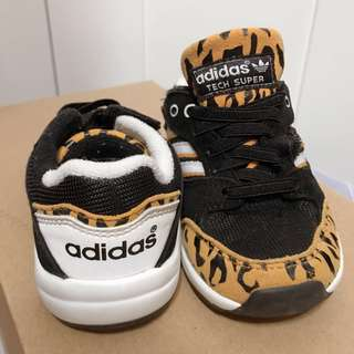 adidas 豹紋 Baby Shoes