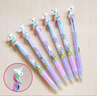 3in1 Unicorn Ballpen (2 pcs.)