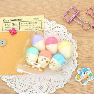 Mini Eggs Highlighter (6pcs.)