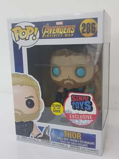 Funko Pop Infinity War Thor Glow in the Dark (Simply Toy Exclusive)