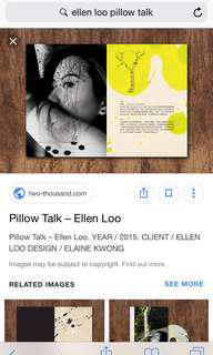 LOOKING FOR Pillow Talk by Ellen Loo