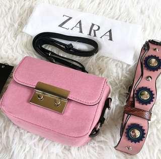 Original Zara Double Leather