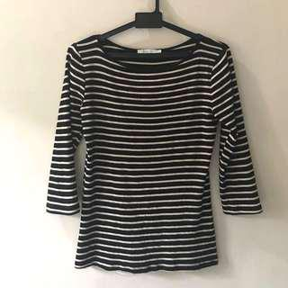 Zara Stripes Tee