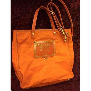 Prada A4 size handbag*price down