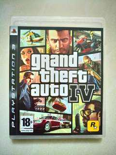PS3 GTA IV 4 GTA4 英文