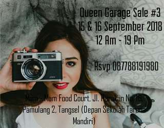 Queen's Garage Sale #3 #Pamulang - Ciputat