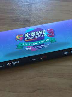 Kwave3 Zone P (left) ticket