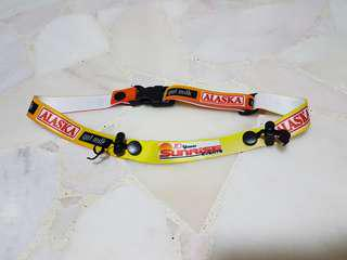 Race belt / bib holder from Ironman Philippines