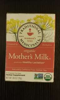 免費!! Free!!Organic Mother's Milk 8包 媽媽奶茶包