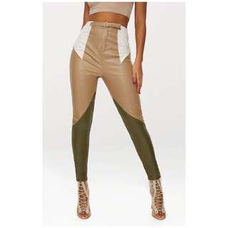 Brand new with tags faux leather pants sz 4