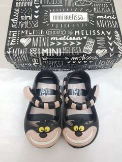 Mini Melissa Alice in Wonderland s5 12cm black pink minimel ootd auth