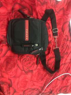 "Repriced!! ""Prada"" belt bag/ shoulder or sling"
