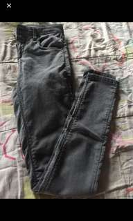 Repriced authentic topshop moto stretchable frm US