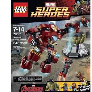 lego hulkbuster 76031