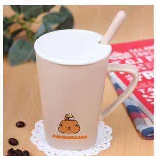 🚚 (特價)水豚君午后陶瓷杯最低價