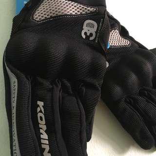 Komine GK-163 motorcycle gloves