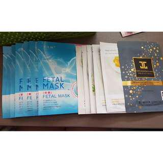 Soda Bubble Sheet (MEDI HEAL) Facial Mask, Hand Mask & Foot Mask (Innisfree & Nature Republic)