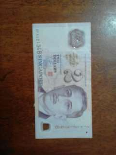 2 dollar Singapore to let go