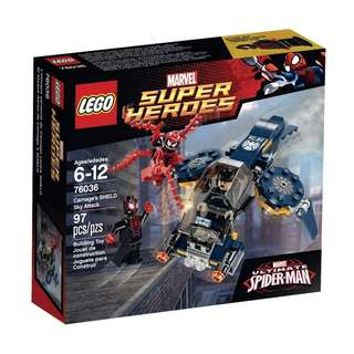 🚚 LEGO® Super Heroes Carnage Shield Attack 76036
