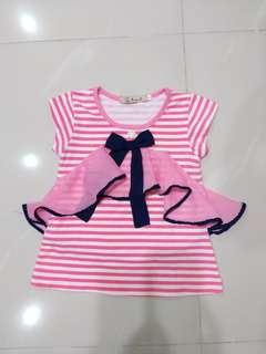 Girl Ribbon top(3yrs)