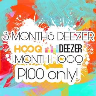 Deezer & HOOQ Bundle
