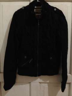 Bershka black jacket