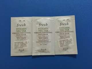全新包郵 Fresh Vitamin Nectar Face Mask