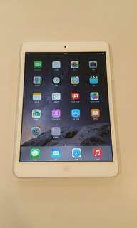 98% new iPad mini 2 Retina 16GB WiFi 版香港行貨 I pad