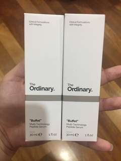 🆕The Ordinary Buffet
