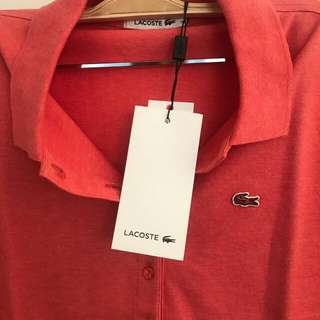 Lacoste ori with tag